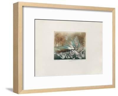 Les oiseaux--Framed Limited Edition