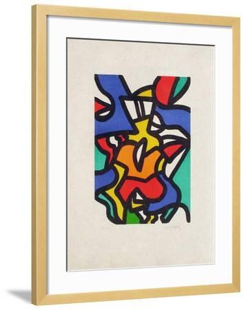 Portraits II : Jean sans Peur-Charles Lapicque-Framed Limited Edition