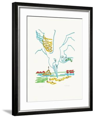 B - Les goélans-Charles Lapicque-Framed Limited Edition