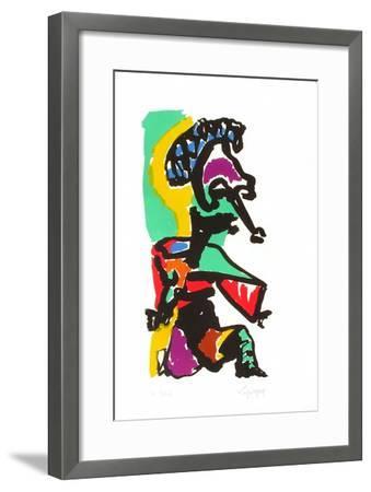 Portraits I : le Chef humilié-Charles Lapicque-Framed Limited Edition
