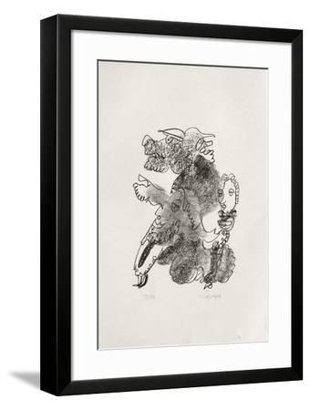 Portraits VIII : Socrate-Charles Lapicque-Framed Limited Edition