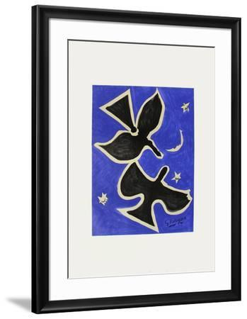 Expo 61 - Musée Galliéra (avant la lettre)-Georges Braque-Framed Collectable Print