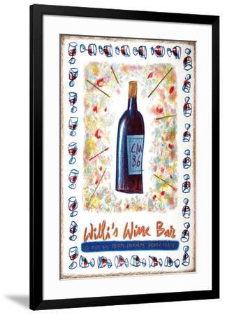Willi's Wine Bar, 1986-Cathy Millet-Framed Premium Edition