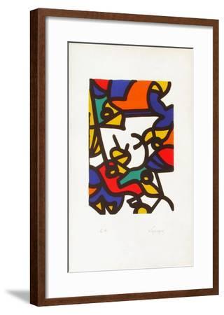 Portraits II : l'oiseleur-Charles Lapicque-Framed Limited Edition