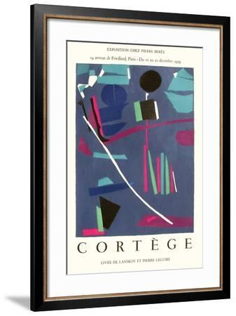 Expo 59 - Chez Pierre Bérès Cortège-Andr? Lanskoy-Framed Collectable Print