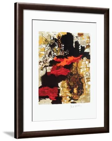 Composition abstraite IV-Pierre-Andr? De Wisches-Framed Collectable Print