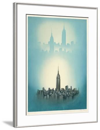 New York-Irena Dedicova-Framed Collectable Print