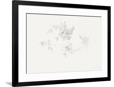 Membrillos y rosa-Antonio Lopez Garcia-Framed Limited Edition