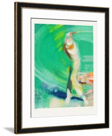 Le golfeur-Paul Ambille-Framed Limited Edition