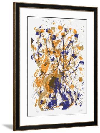 Trio cordes I-Fernandez Arman-Framed Limited Edition