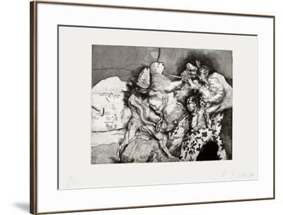 Dracula going pipi-Miguel Conde-Framed Limited Edition