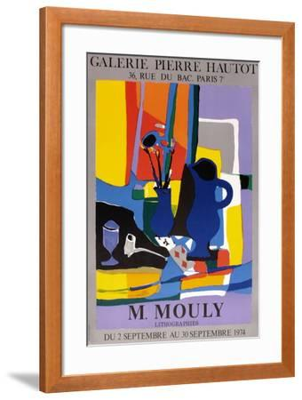 Expo 74 - Galerie Hautot-Marcel Mouly-Framed Collectable Print