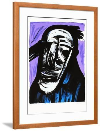 Portrait éclaté V-John Christoforou-Framed Premium Edition