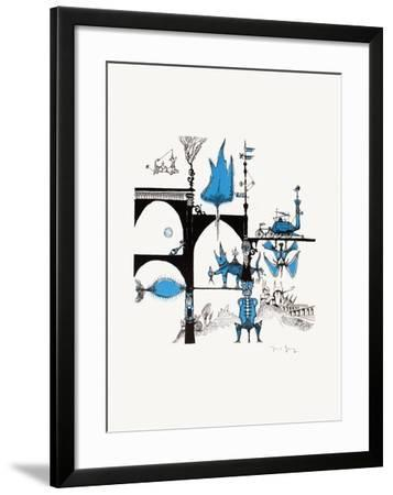 Un monde imaginaire I-Marcel Genay-Framed Collectable Print