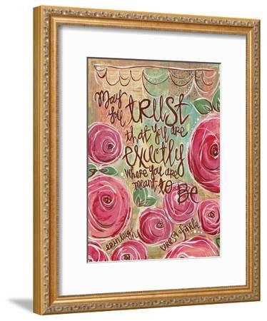 Trust-Erin Butson-Framed Art Print