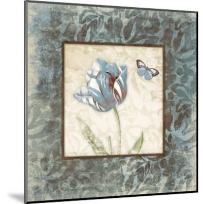 Butterfly Tulip 2-Jace Grey-Mounted Art Print