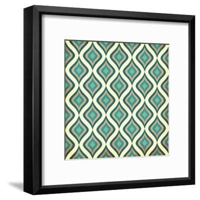 Pattern 1-Jace Grey-Framed Art Print