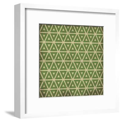 Pattern 2-Jace Grey-Framed Art Print