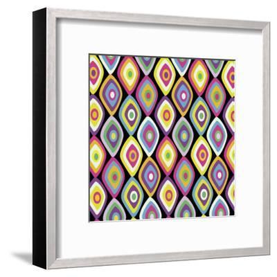 World Pattern 2-Lauren Gibbons-Framed Art Print