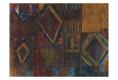 Native Diamond-Smith Haynes-Framed Art Print