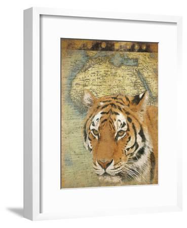 Tiger Africa-Jace Grey-Framed Art Print