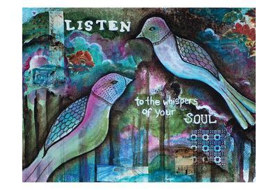 Listen-Pam Varacek-Framed Art Print