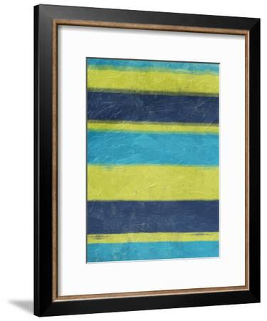Cool Hues 2-Jace Grey-Framed Art Print