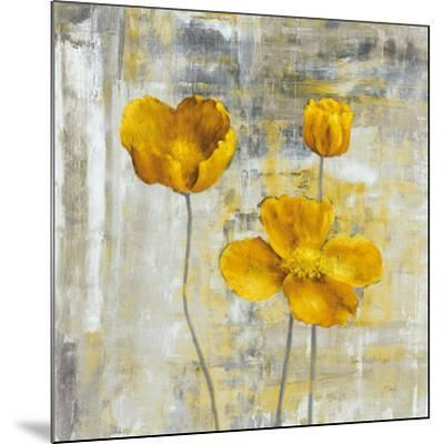 Yellow Flowers II-Carol Black-Mounted Art Print