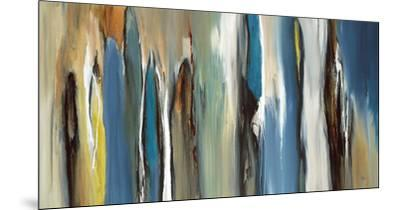 Fields of Blue-Lisa Ridgers-Mounted Art Print