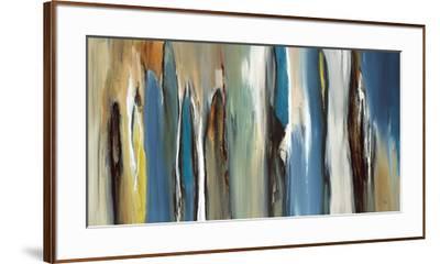 Fields of Blue-Lisa Ridgers-Framed Art Print