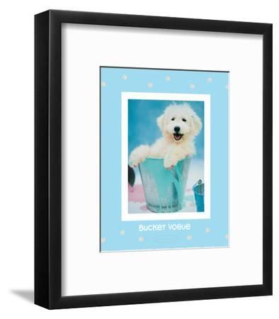 Bucket Vogue-Rachael Hale-Framed Art Print