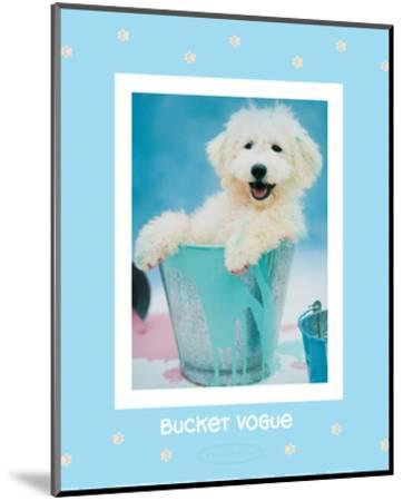Bucket Vogue-Rachael Hale-Mounted Art Print