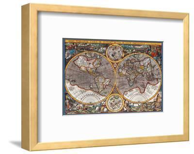 Map of the World II--Framed Art Print