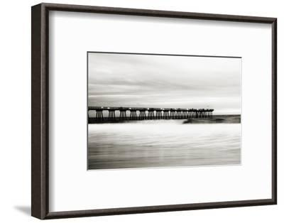 Hermosa Pier-Shane Settle-Framed Art Print