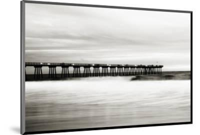 Hermosa Pier-Shane Settle-Mounted Art Print