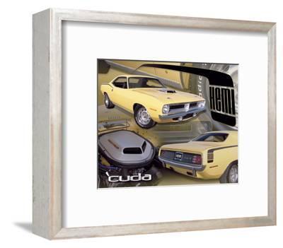 1970 Hemi Cuda--Framed Art Print