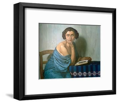 Returned From The Sea-F?lix Vallotton-Framed Giclee Print