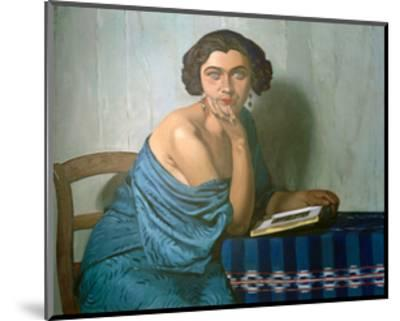 Returned From The Sea-F?lix Vallotton-Mounted Giclee Print