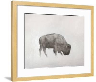 Buffalo (left)-Jacqueline Neuwirth-Framed Art Print