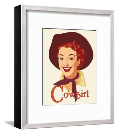 Cowgirl-Richard Weiss-Framed Art Print