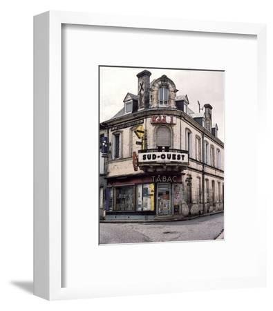 Sud-Ouest Tabac Store at the Corner-Richard Sutton-Framed Art Print