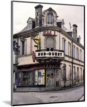 Sud-Ouest Tabac Store at the Corner-Richard Sutton-Mounted Art Print