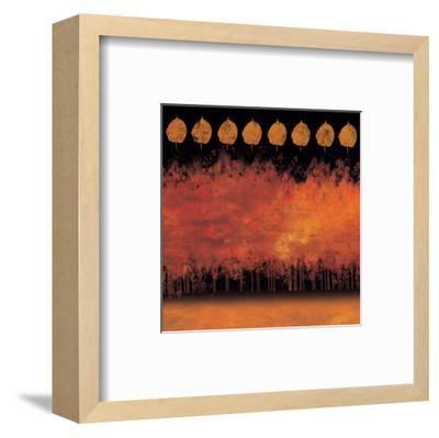 German Forest at Night-Von Udo-Framed Art Print