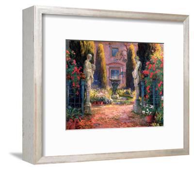 Larramet de Belot-Auguste Lepere-Framed Art Print