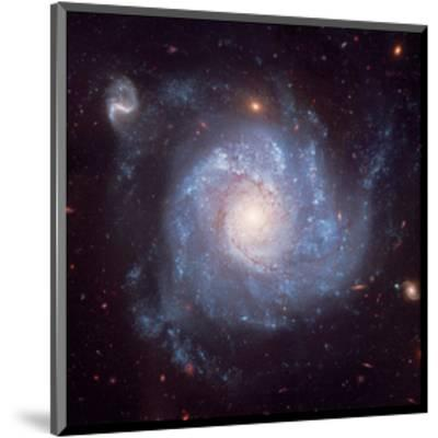 NASA - Pinwheel-Shaped Galaxy--Mounted Art Print