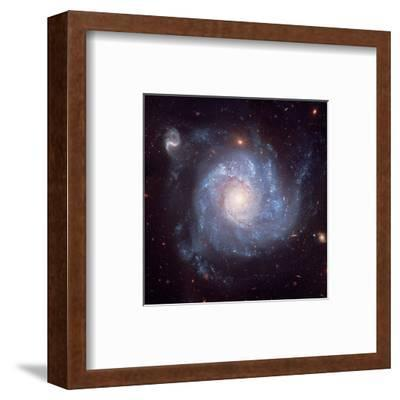 NASA - Pinwheel-Shaped Galaxy--Framed Art Print
