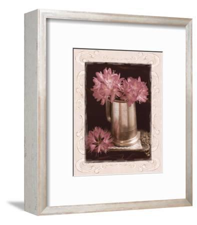 Pink Flowers Fresh Cuts I-Richard Sutton-Framed Art Print