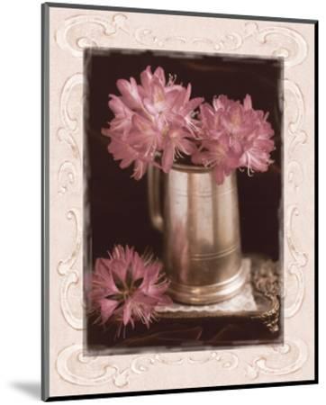 Pink Flowers Fresh Cuts I-Richard Sutton-Mounted Art Print