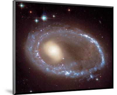 NASA - Ring Nucleus of Galaxy AM 0644-741--Mounted Art Print