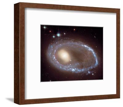 NASA - Ring Nucleus of Galaxy AM 0644-741--Framed Art Print